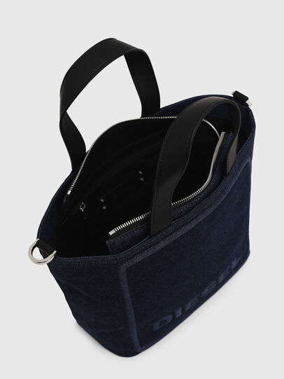 Diesel - PUMPKIE, Dark Blue - Satchels and Handbags - Image 6