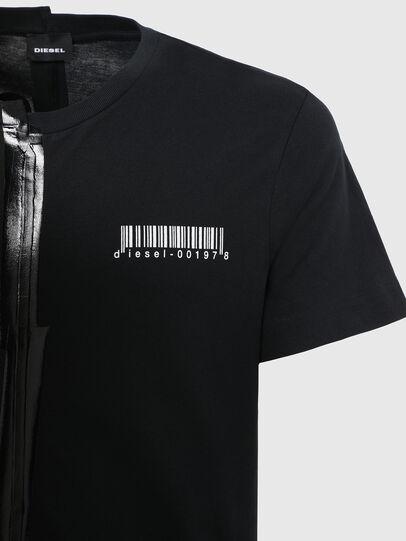 Diesel - T-JUBBY, Black - T-Shirts - Image 4