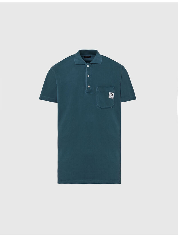 T-POLO-WORKY, Water Green - Polos