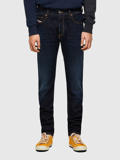 Diesel - D-Luster 009ZS, Dark Blue - Jeans - Image 1