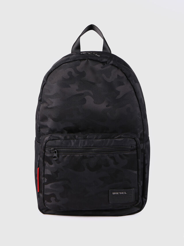 Diesel - F-DISCOVER BACK, Black - Backpacks - Image 1