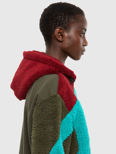 Diesel - S-ALDY, Olive Green - Sweaters - Image 6