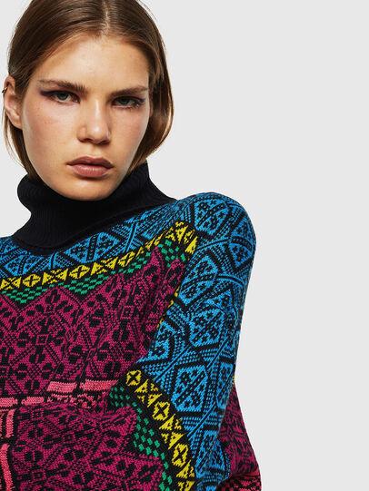 Diesel - M-CV-NORV, Multicolor - Knitwear - Image 3