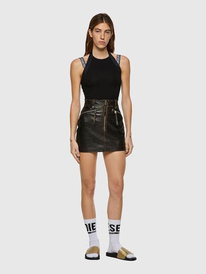 Diesel - L-EMILIA, Black - Skirts - Image 4