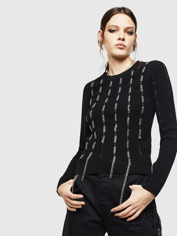 M-LYV, Black - Knitwear