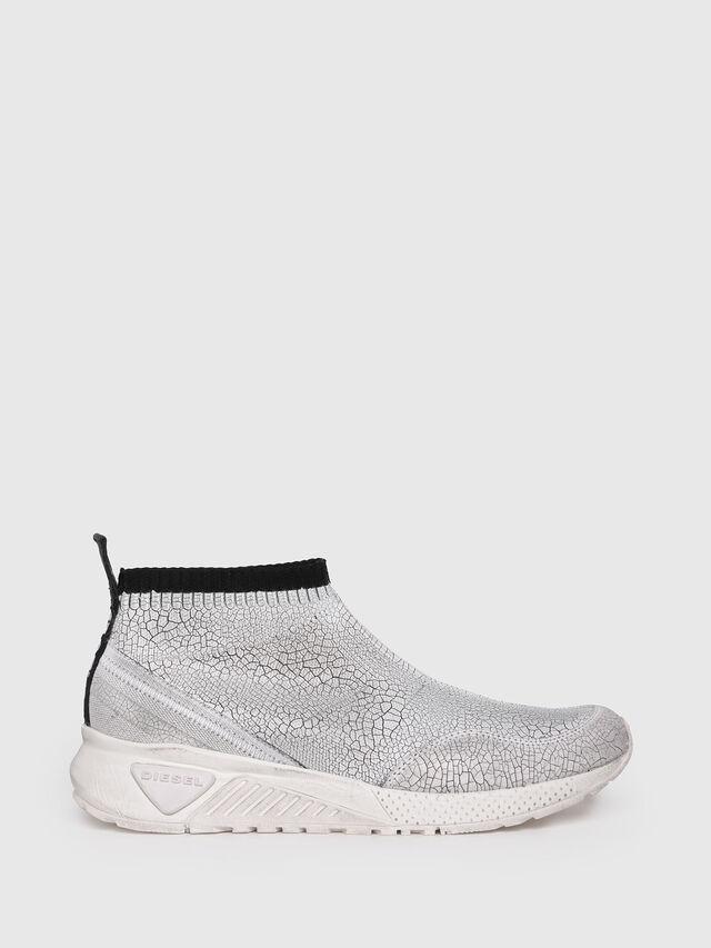 Diesel - S-KB ANKLE SOCK, Silver - Sneakers - Image 1