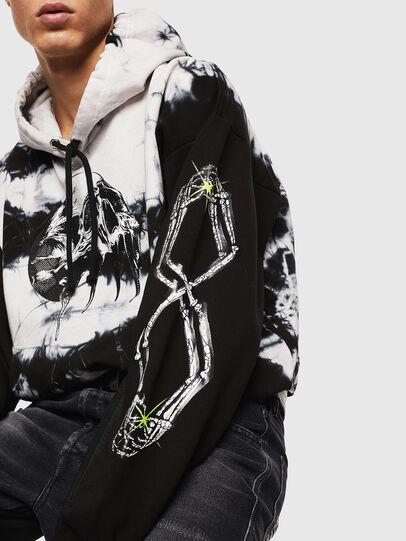 Diesel - S-ALBY-Y, Black/White - Sweaters - Image 7