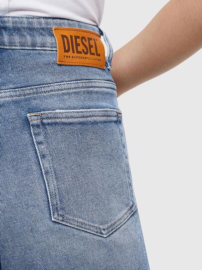 Diesel - D-Eiselle 0096X, Medium blue - Jeans - Image 3