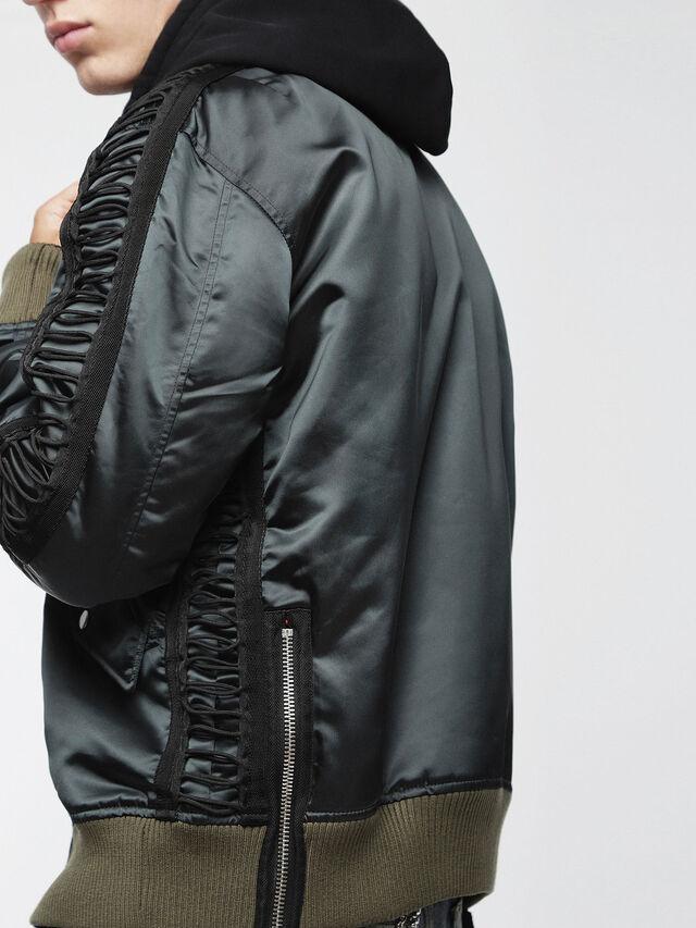 Diesel - J-EARLY, Black/Green - Jackets - Image 5
