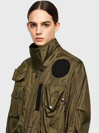 Diesel - C-CORAL, Military Green - Shirts - Image 3