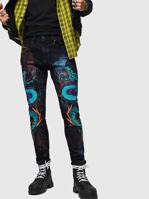 D-Strukt 0093E, Black/Dark grey - Jeans