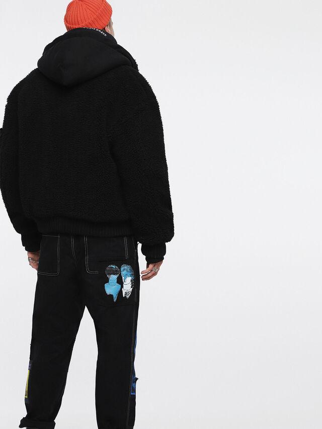 Diesel - W-PATTY, Black - Winter Jackets - Image 2