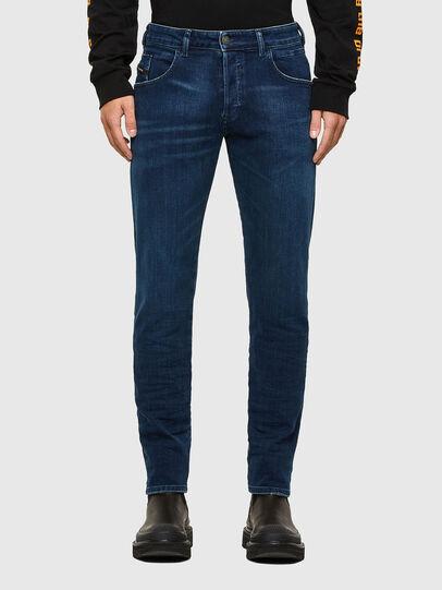 Diesel - D-Bazer 009JE, Dark Blue - Jeans - Image 1
