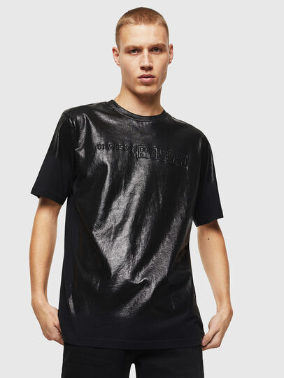 Diesel - T-JUST-J1, Black - T-Shirts - Image 1