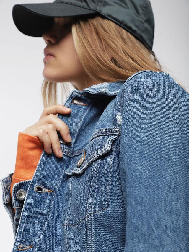 Diesel - DE-VELVET, Blue Jeans - Denim Jackets - Image 5