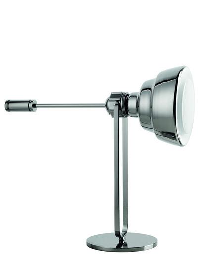Diesel - GLAS TAVOLO CROMO, Silver - Table Lighting - Image 1