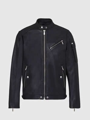 L-CASE-KA, Black - Leather jackets