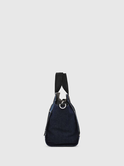Diesel - F-CAORLY SATCHEL M, Blue - Satchels and Handbags - Image 3