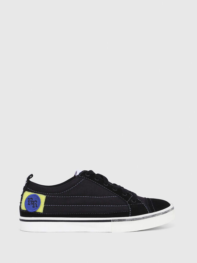 Diesel - D-VELOWS LOW PATCH W, Black - Sneakers - Image 1