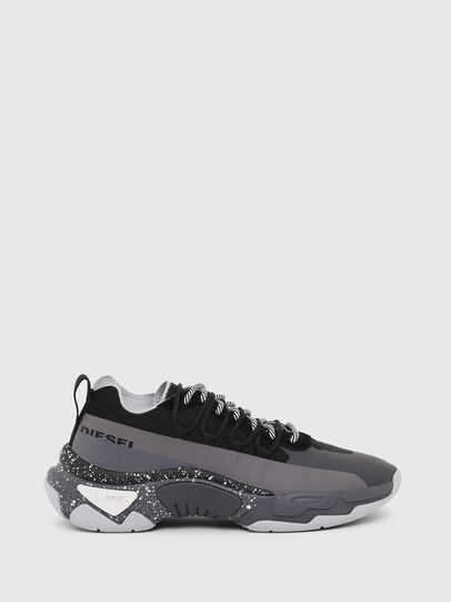 Diesel - S-KIPPER BAND, Gray/Black - Sneakers - Image 1