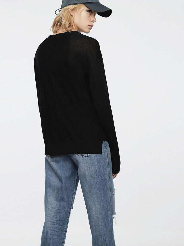 Diesel - M-STILES, Black - Knitwear - Image 2