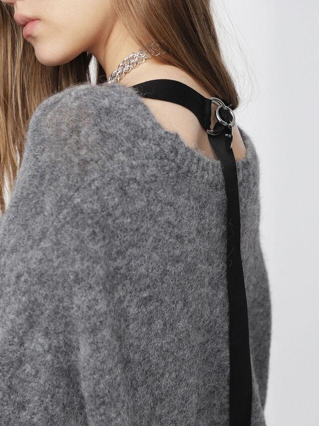 Diesel - M-ALPY, Grey - Knitwear - Image 3