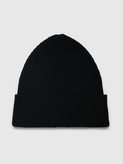 Diesel - LR-BEANY, Black - Knit caps - Image 2