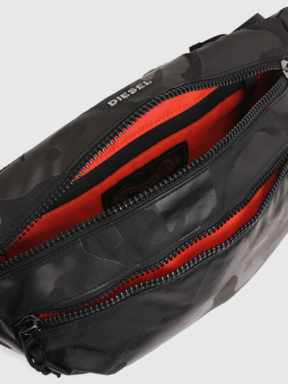 Diesel - F-URBHANITY BUMBAG, Black - Belt bags - Image 4