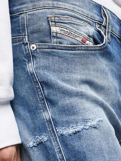 Diesel - D-Istort 009CJ, Medium blue - Jeans - Image 4