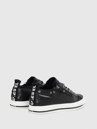 Diesel - EXPO-ZIP LOW W, Black - Sneakers - Image 3