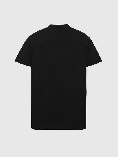 Diesel - T-POLO-WORKY, Black - Polos - Image 2