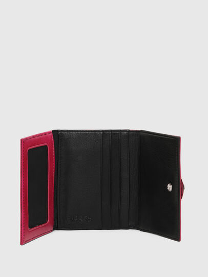 Diesel - LORY, Pink/Black - Small Wallets - Image 4