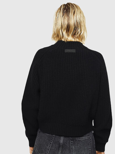 Diesel - M-FOLLY-A, Black/Silver - Knitwear - Image 2