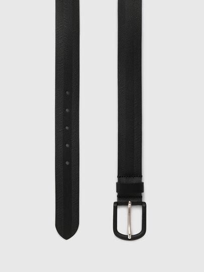 Diesel - B-SPIGA, Black - Belts - Image 3