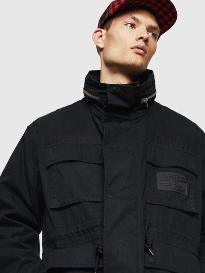 Diesel - J-TOUCHIN, Black - Jackets - Image 4