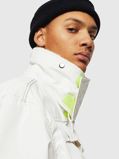Diesel - W-OKSO, White - Winter Jackets - Image 8