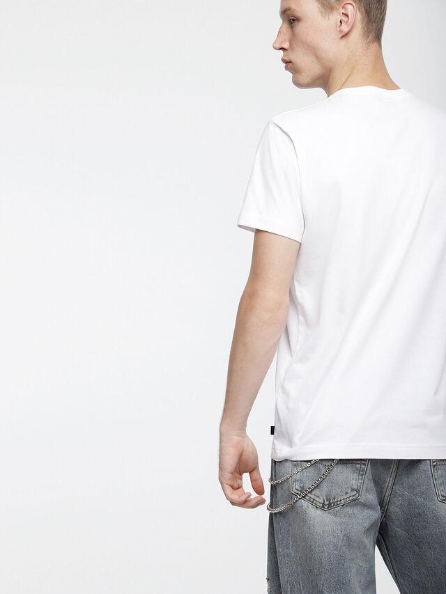 Diesel - T-DIEGO-XC, White - T-Shirts - Image 2