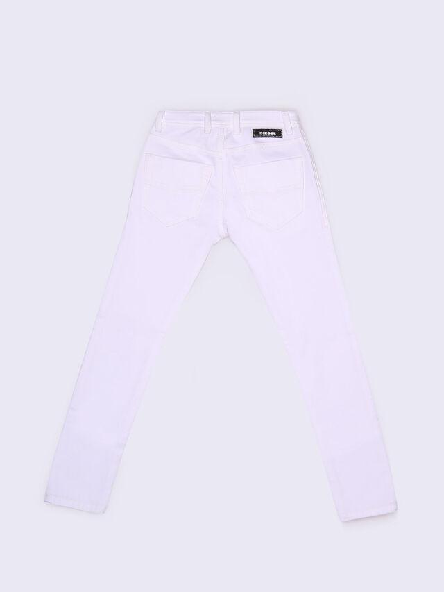 Diesel - TEPPHAR-J-N JOGGJEANS, White Jeans - Jeans - Image 3
