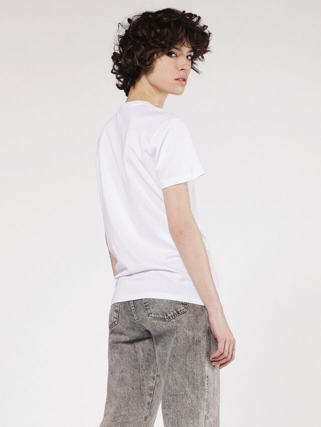 Diesel - T-EXPLO, White - T-Shirts - Image 2