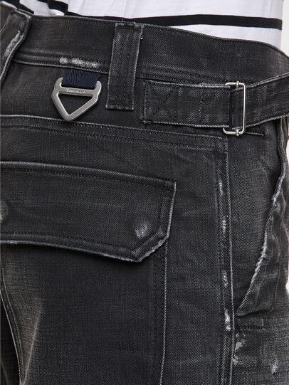 Diesel - D-Multy 009KX, Black/Blue - Jeans - Image 5
