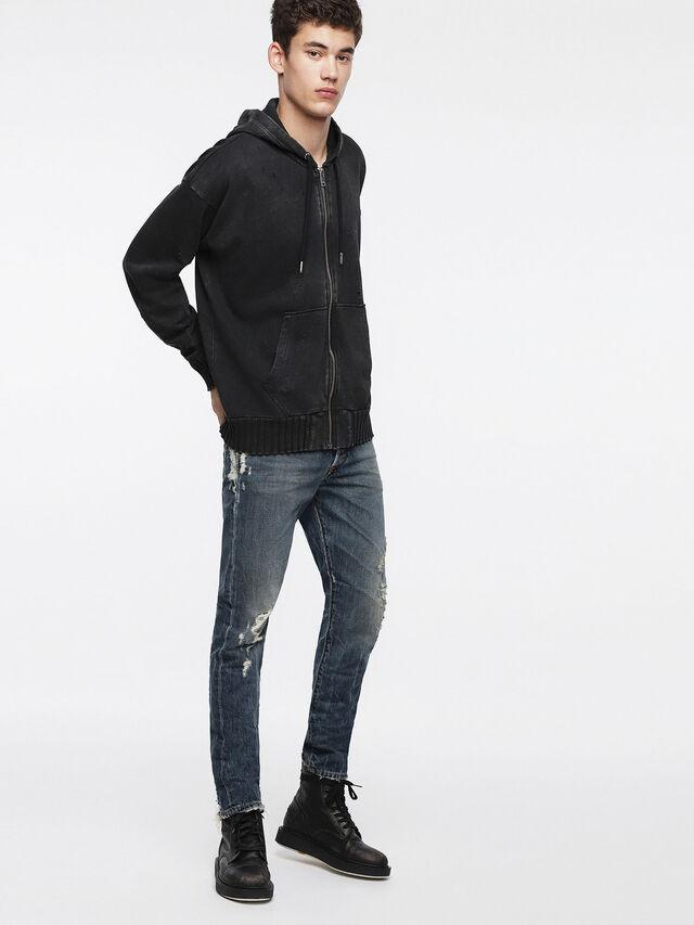 Diesel - S-STAPP, Black - Sweaters - Image 4