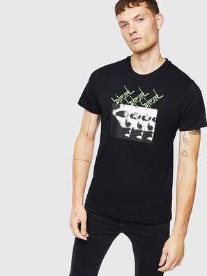 T-DIEGO-J12, Black - T-Shirts