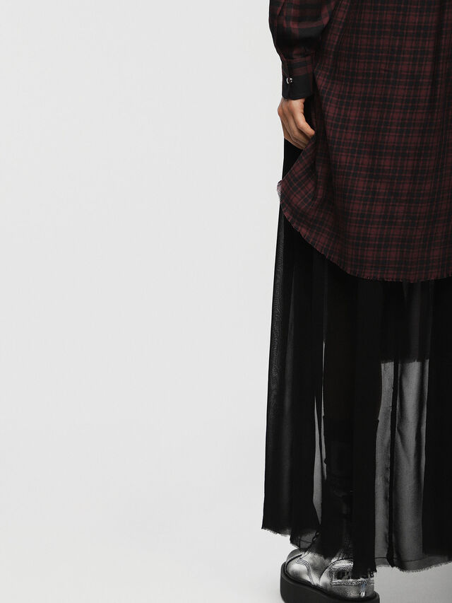 Diesel - D-BAGGY, Red/Black - Dresses - Image 4