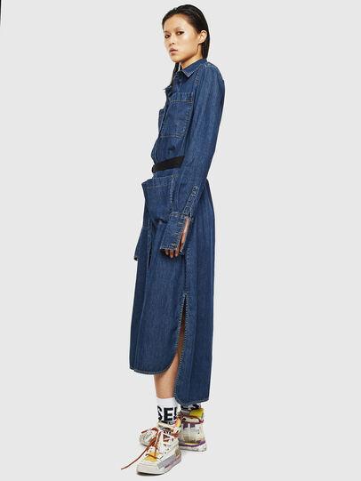 Diesel - DE-TOKYO, Medium blue - Dresses - Image 7
