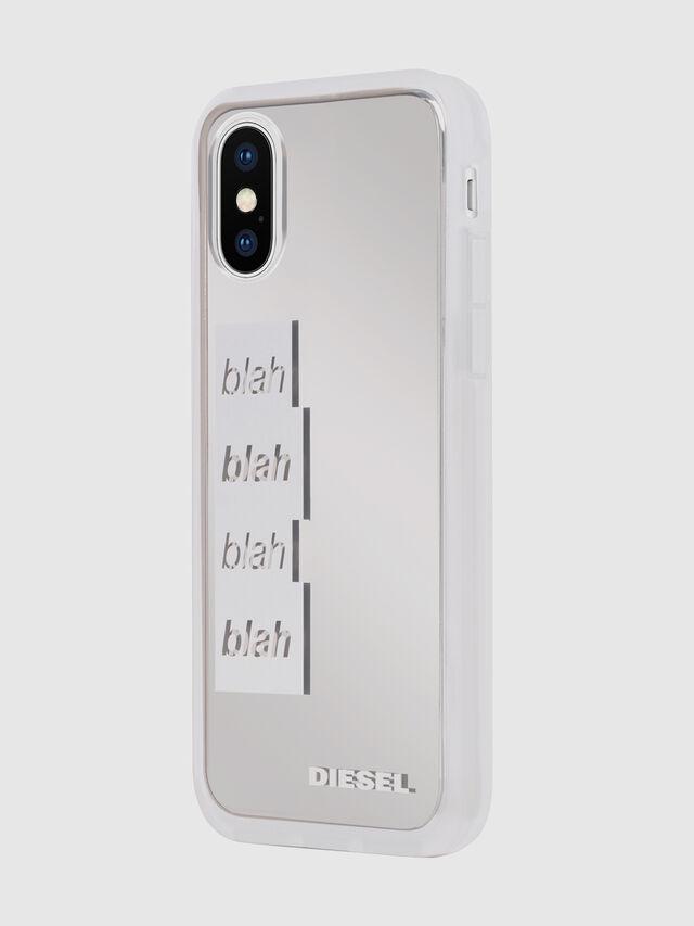 BLAH BLAH BLAH IPHONE X CASE, White