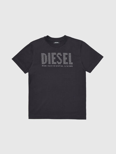 Diesel - TABEL, Black - T-shirts and Tops - Image 1