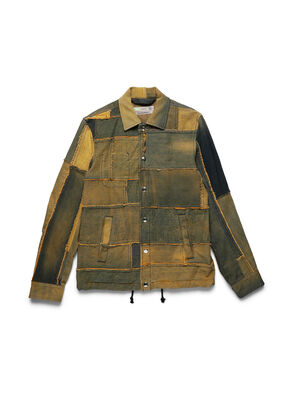 D-COACINQUE5, Yellow - Denim Jackets