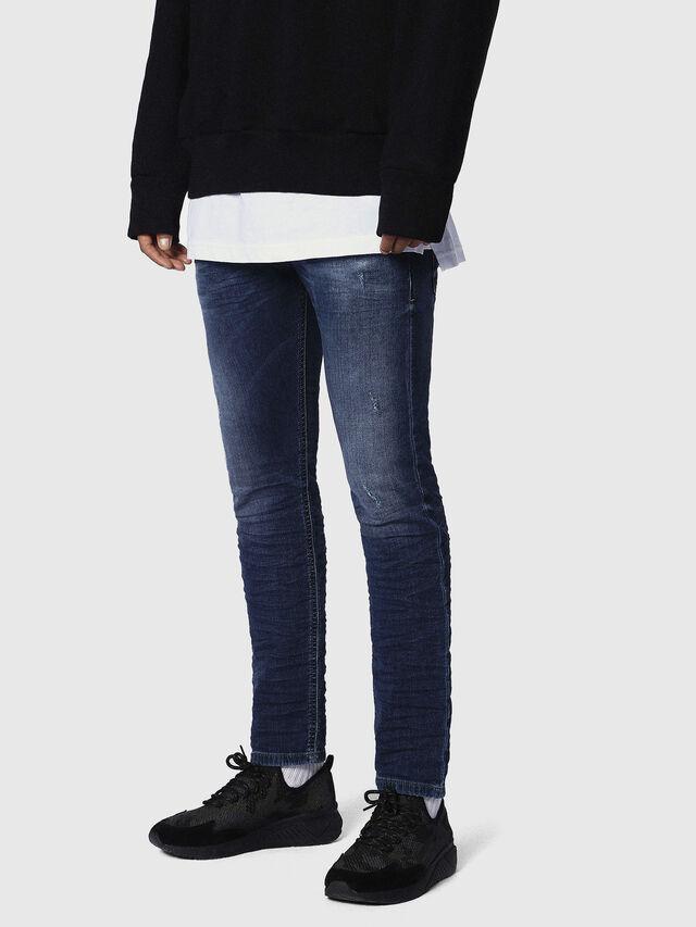 Diesel Krooley JoggJeans 0686W, Dark Blue - Jeans - Image 3