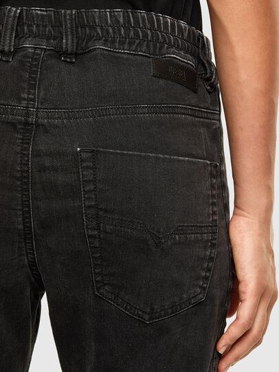 Diesel - KRAILEY JoggJeans® 009FY, Black/Dark grey - Jeans - Image 4