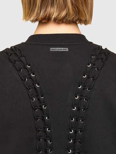 Diesel - F-ANAIT, Black - Sweaters - Image 4
